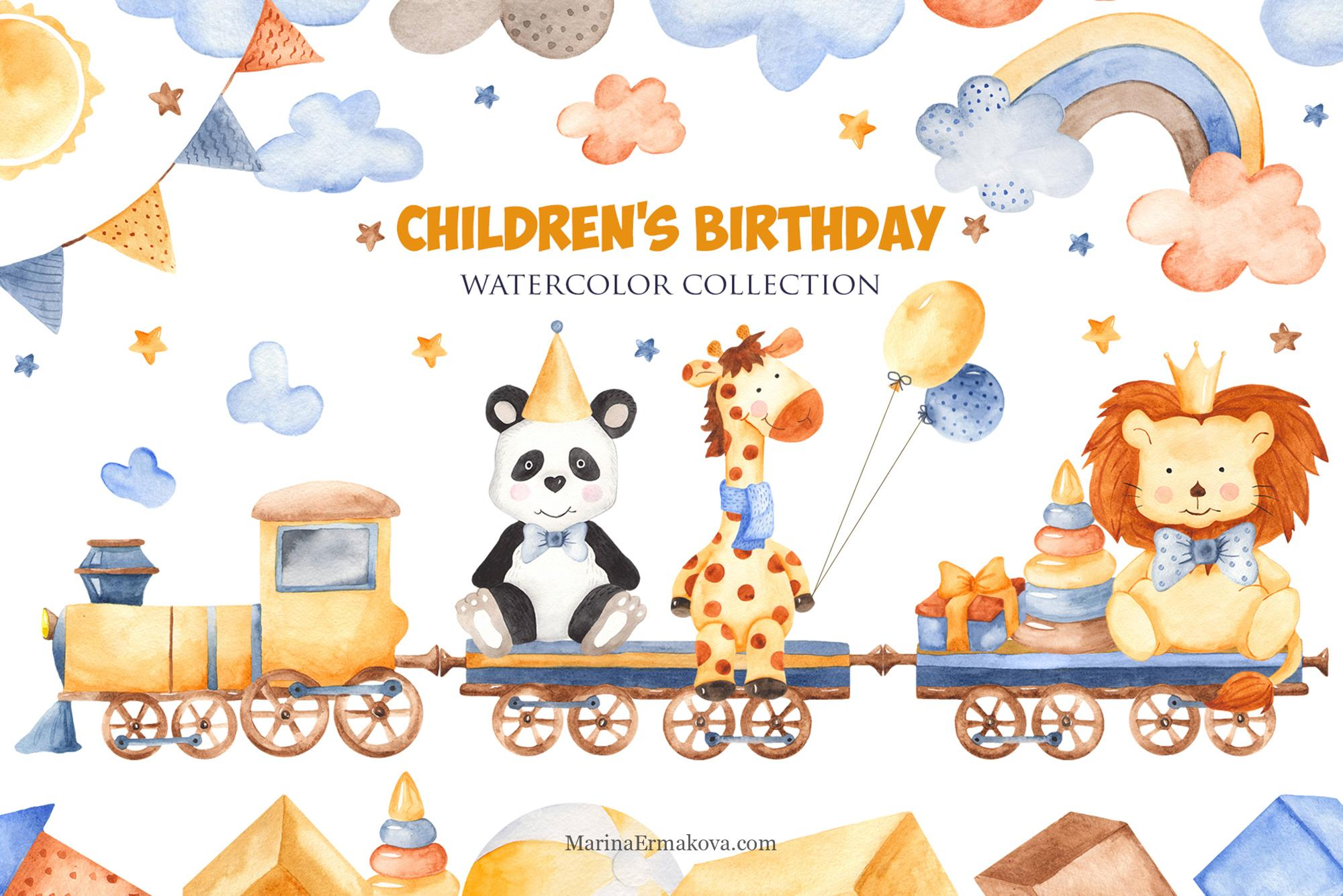 Happy Birthday Set With Baby Panda Bears Stock Illustration - Illustration  of collection, greeting: 128479285
