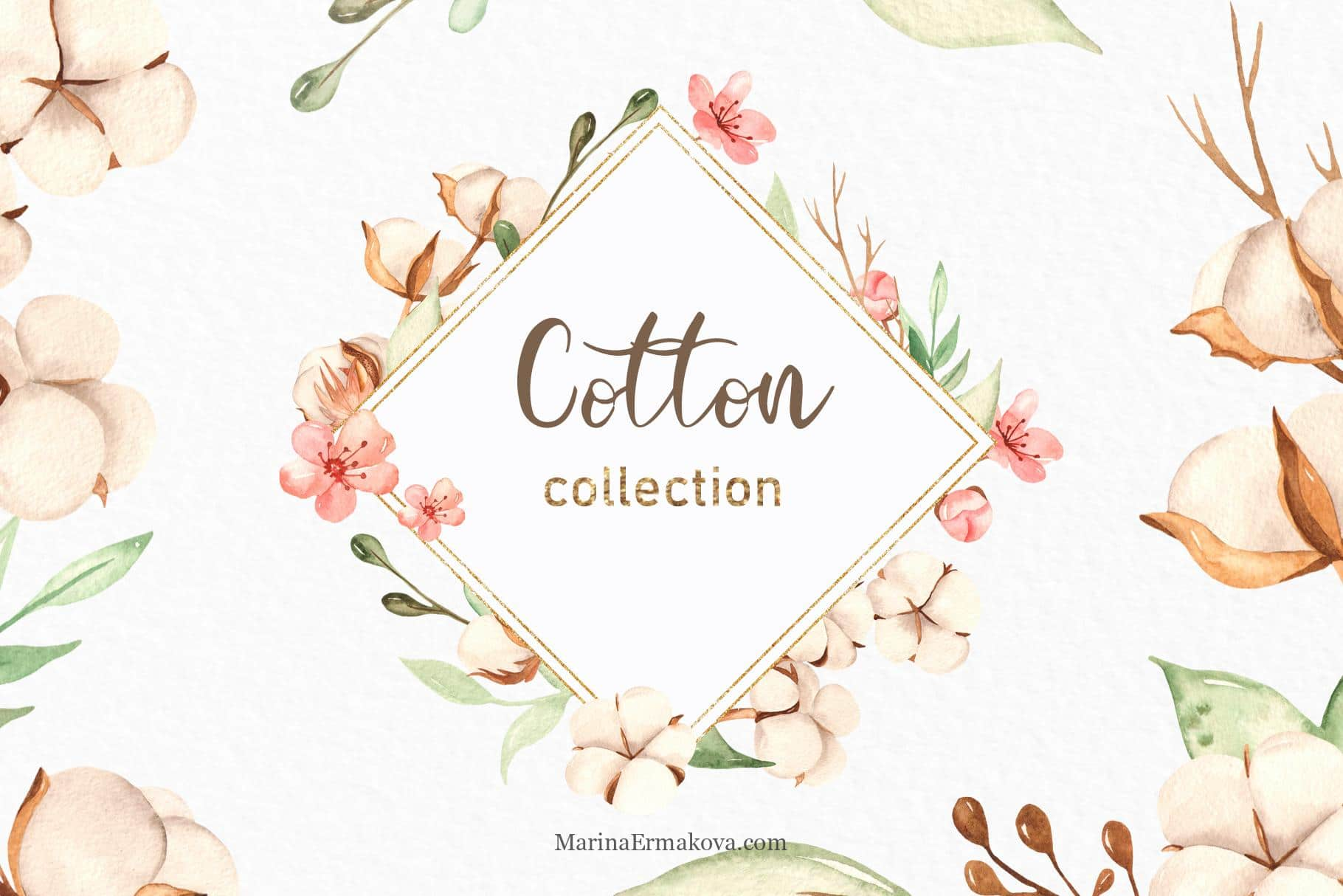 Cotton Watercolor Collection